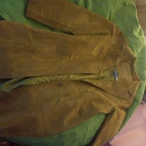 Women's Olive colored  lined jacket